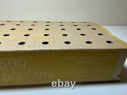 (1) Kennedy Half Dollar Sealed Bank Box (50) Rolls Circulated