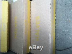 1 One Box, 50 Bank wrapped rolls of Kennedy half dollars. $500 face value Fed