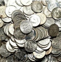 1 Troy Pound Old U. S. 40% Silver Kennedy Half Dollar Lot-No Junk-1965-1969