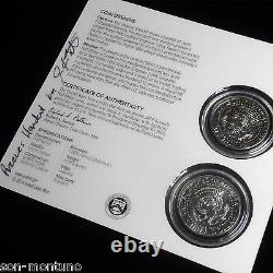 2014 Kennedy 50th Anniversary JIGSAW PUZZLE COIN SET Half Dollars ARTIST SIGNED
