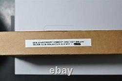 2014 P, D, W, S Kennedy 50th Ann Half-Dollar Silver Coin Collection in Unopened box
