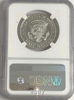 2014 P Ngc Pf70 Silver Kennedy Half Dollar 50th Anninversary Ask Not Label Jfk