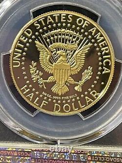 2014-W50th Anniversary Kennedy Half Dollar Gold Proof Coin, PCGS PR69DCAM. BOX/COA