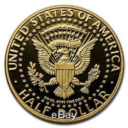 2014-W 3/4 oz Gold Kennedy Half Dollar Commem Proof (Capsule) SKU#212472