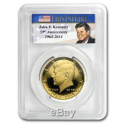 2014-W 3/4 oz Gold Kennedy Half Dollar PR-69 PCGS (First Strike) SKU#96448