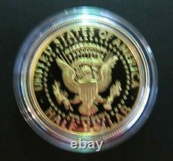 2014-W 3/4oz Gold Half-Dollar Kennedy 50th Anniversary Proof