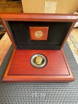 2014-W 50th Anniversary Gold Kennedy Half Dollar 3/4 Troy Oz. 9999 Fine Gold