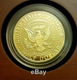 2014-W 50th Anniversary Kennedy Half Dollar Gold Proof Coin Direct from US Mint
