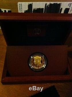 2014-W 50th Anniversary Kennedy Half Dollar Gold Proof Coin K15 JFK 24K US Mint