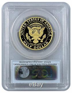 2014 W Gold 50c Kennedy Half Dollar 50th Anniv High Relief PCGS PR70 DCAM FS