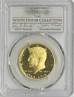 2014-W JFK Kennedy 3/4 oz. 999 Gold Half Dollar PCGS PR70 DCam White House