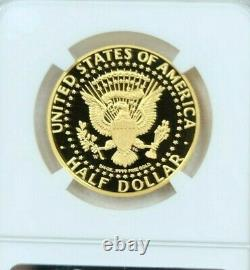 2014 W Kennedy Gold Half Dollar 50c High Relief Ngc Pf 70 Ultra Cameo Perfection
