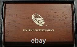 2014 W Proof 50th Anniversary Kennedy Half Dollar Gold Coin with Original Box