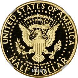 2014 W US Gold Half Dollar Kennedy 50th Anniversary Proof 50C NGC PF70 UCAM