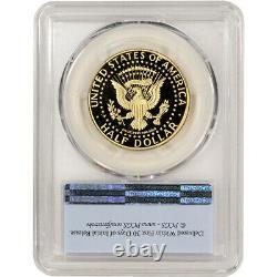 2014 W US Gold Half Dollar Kennedy 50th Proof 50C PCGS PR70 DCAM First Strike