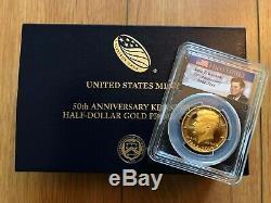 2014-W US John F. Kennedy Half-Dollar Proof Gold Coin PCGS