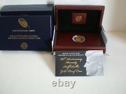 2014-w Kennedy Half-dollar Gold Proof Coin K15