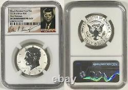 2018 S Silver Kennedy Half Dollar 50c Reverse Proof Ngc Pf70 First Releases R10