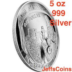 2019 S Apollo 11 50th Anniversary Reverse Kennedy Proof 2 Half Dollar Set 19CF