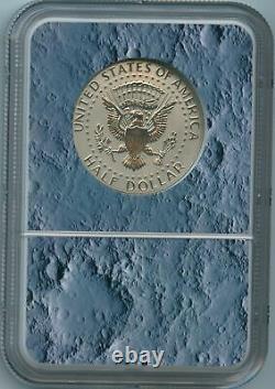 2019 S NGC PF70 Enhanced Reverse Proof Kennedy Half Dollar Apollo 11 PF70 FDOI