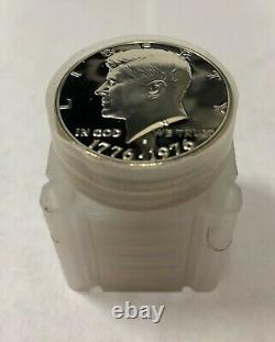 20 1976 S Kennedy Silver Half Dollars GEM Proof Roll of 20