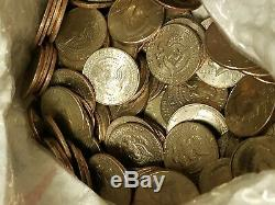 400 Circulated Kennedy Half Dollars ($200 Face Value) Random Dates & Mint Marks