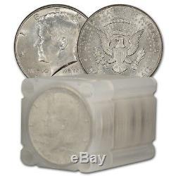 90% Silver 1964 Kennedy Half Dollars BU Roll of 20 $10 Face Value