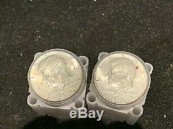 90% Silver 1964 Kennedy Half Dollars Roll of 20 $10 Face Value, from estate