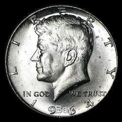 90% Silver 1964-P/D Kennedy Half Dollar 20-Coin Roll BU SKU #10945