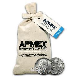 90% Silver Kennedy Half-Dollars $100 Face-Value Bag (1964) SKU #5299