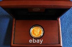 9999 Fine Gold 2014-W 50th Anniversary Kennedy Half Dollar Proof Coin