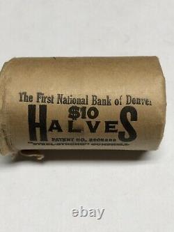 BU1965 From Original Bank Roll 40% Silver Kennedy Half Dollars 20 coins $10 FV