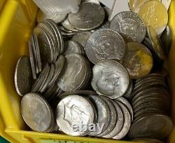 BU 1965-1969-D Kennedy Half Dollar $10 Roll 40% Silver Unc MS 20 Coin Bulk Lot