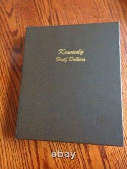 Beautiful Complete Bu Kennedy Half Dollar Set 1964-2020 P&d Dansco Album