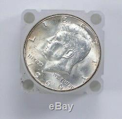 Bulk Lot 1964 BU Uncirculated 20 Coins 90% Silver Kennedy Half Dollars Roll Unc