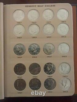 COMPLETE SET DANSCO KENNEDY HALF DOLLAR 1964 2012 P & D COLLECTION 90 coins