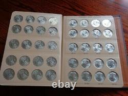 Complete Bu Kennedy Half Dollar Set 1964-2021 P&d Dansco Album Total108 Coins