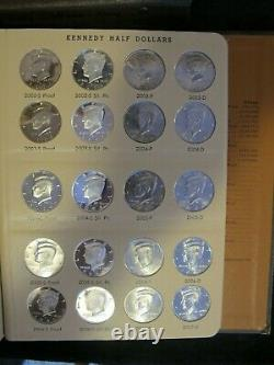Complete Kennedy Half Dollar Collection 1964-2020 Uncirculated/clad/silver Proof