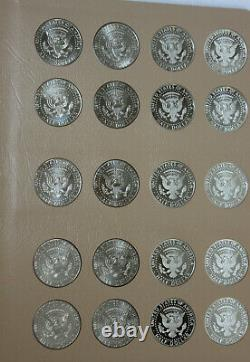 Complete Set PDS & Silver Proofs 2012-2020-S Kennedy Half Dollars