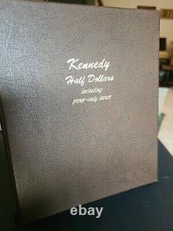 Dansco Kennedy Complete Album Set 1964- 2001 Half Dollar Set W Proofs 120 Coins