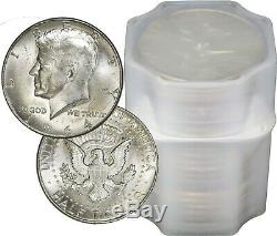 FULL DATES Roll Of 20 $10 Face Value 90% Silver 1964 Kennedy Half Dollars