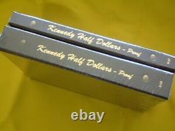 KENNEDY HALF DOLLAR 2 DANSCO ALBUMS SET #8166 & #8167 WithPROOF 1964-2020 UP