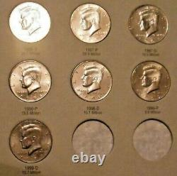 Kennedy Half Dollar Set 1964 To 2018 P & D Complete 102 Coin Set