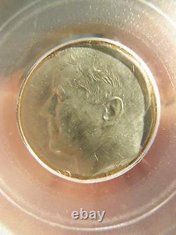 Kennedy Half Dollar Struck On Dime Planchet Pcgs Ms63 Looks Like A Proof