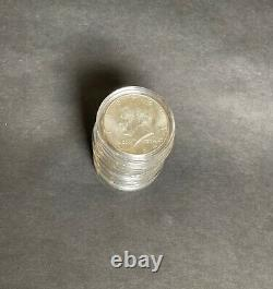 Lot of 10 1964 Kennedy Half Dollar 90% Silver AU Condition Includes Holder