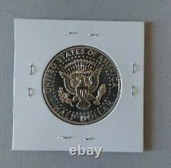 Lot of (3) 1964 Proof Kennedy Silver Half Dollar, Accented Hair, Transitional &