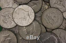 MAKE OFFER Half Troy Pound 1964 Kennedy Half Dollars 90% Silver Junk Coins