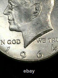 Original Choice to GEM BU Roll of (20) 1964 90% Silver Kennedy Half Dollars #1