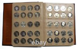Set of 160 1964-2012 Kennedy Half Dollars Including Proof Issues in Dansco Album