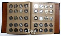 Set of 160 1964-2012 Kennedy Half Dollars Including Proof Issues in Dansco Album